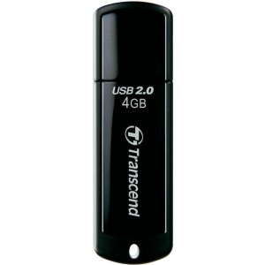 TRANSCEND JetFlash 350 - Flash Drive - 4GB