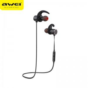 Awei AK9 Wireless Sports Bluetooth Earphone Magnetic Switch IPX4 Waterproof  Headset