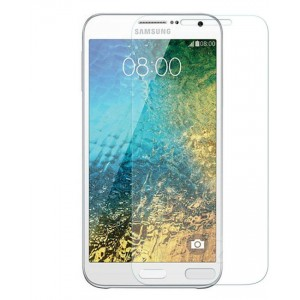 Samsung Galaxy E7 - Tempered Glass Screen Protector - Clear
