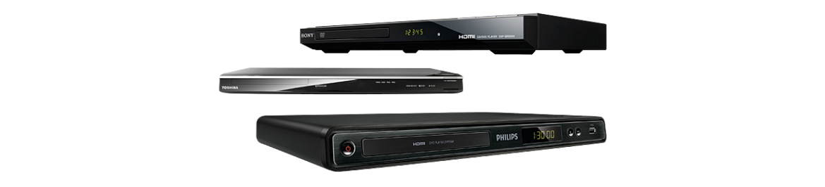 DVD players and Accesories
