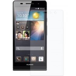 Huawei P6 - Tempered Glass Screen Protector - Clear