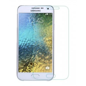 Samsung Galaxy E5 - Tempered Glass Screen Protector - Clear