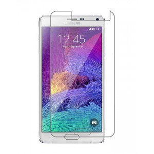 Samsung Galaxy Note 4 - Tempered Glass Screen Protector - Clear