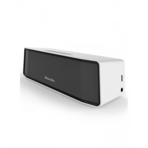 Bluedio BS-2 Mini Wireless Bluetooth Portable Speaker with 3D Surround Sound - White