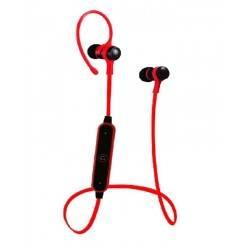 Upcoming Sports S6-1 Bluetooth Earphone - Black & Red