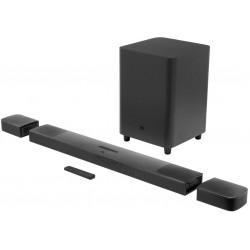 JBL Bar 9.1 Channel Soundbar System with surround speakers and Dolby Atmos