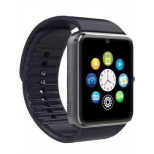 GT08 - Bluetooth Smart Watch Phone - Black