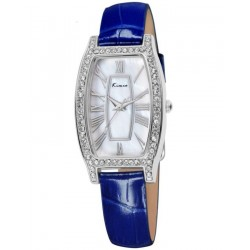 KIMIO Exquisite Blue Wrist Watch + Free Gift Box