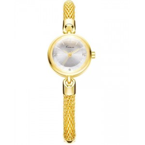 KIMIO Luxury Gold Bracelet Wrist Watch + Free Gift Box