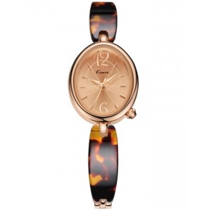 KIMIO Brown Tan Bracelet Watch + Free Gift Box