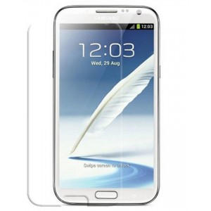 Samsung Galaxy Note 2- Tempered Glass Screen Protector - Clear
