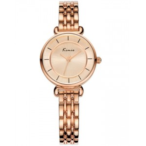 KIMIO Gold Classic Wrist Watch + Free Gift Box