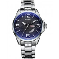 EYKI Exclusive Stainless Steel Blue Tone Watch