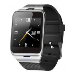 "Aplus GV18 - 1.54"" Smart Watch Phone - 128MB ROM - 64MB RAM - 0.3MP Camera - Silver + Black"