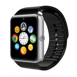 GT08 - Bluetooth Smart Watch Phone - Silver & Black