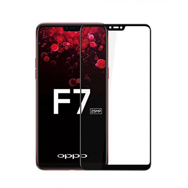 Oppo F7 3D Full Tempered Glass Screen Protector