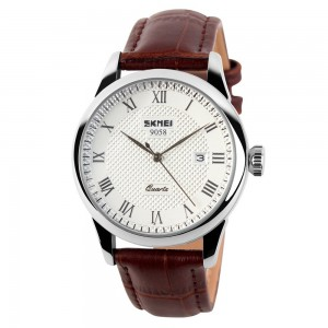 Skmei Brand Men Luxury Fashion Casual Simple Watch 1181 - Brown