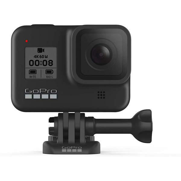 GoPro HERO8 Waterproof Action Camera with Touch Screen 4K Video 12MP Photos