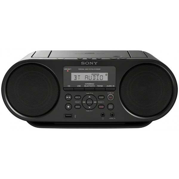 Sony ZSRS60BT CD Boombox Portable Radio with Bluetooth and NFC