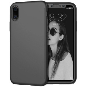 360 Full Cover Protect Case For iPhone X