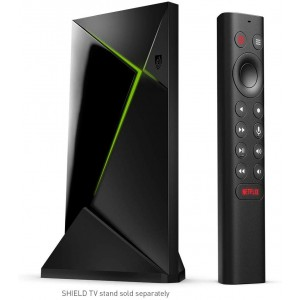 NVIDIA Shield TV Pro | 4K HDR Streaming Media Player (2019), 3GB RAM,  Works with Alexa