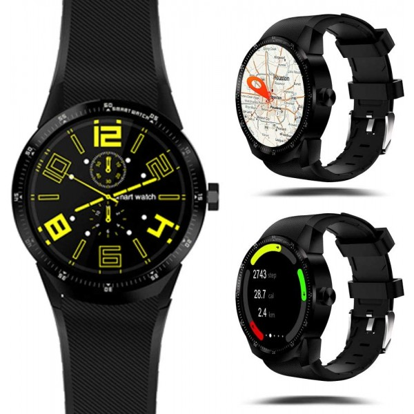 K98H 3G Smartwatch Android Bluetooth Wifi GPS Playstore