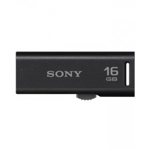 Sony Micro Vault USB Flash Drive - 16GB - Black