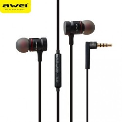 Awei ES70TY In-Ear Earphone Metal Heavy Bass With MIC