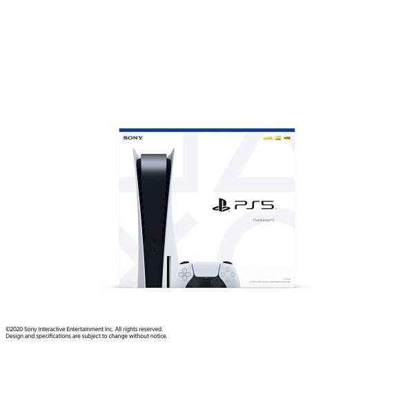 Sony PlayStation 5 Console 825GB Disk Version