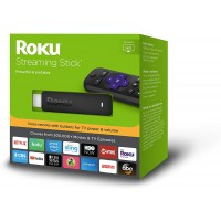 Roku Streaming Stick with voice remote with TV power and volume