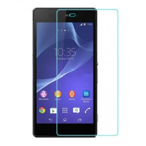 Sony Xperia Z1 - Tempered Glass Screen Protector - Clear