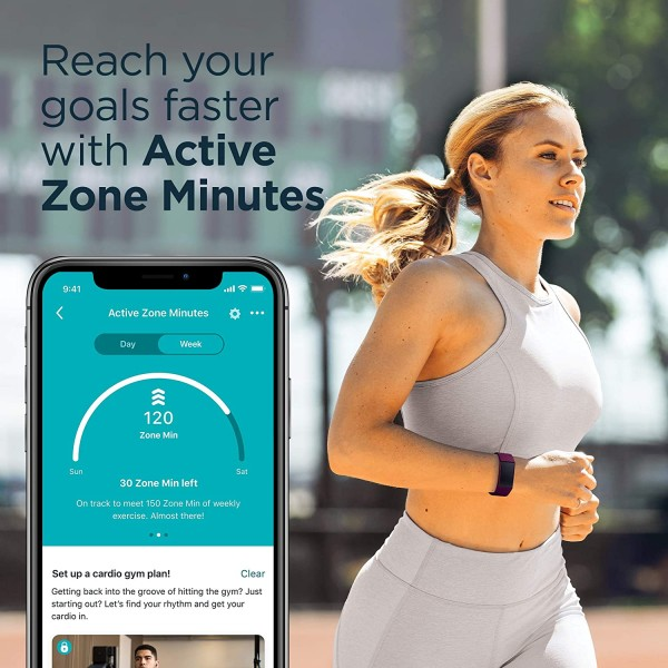 Fitbit Charge 4 Fitness and Activity Tracker with GPS