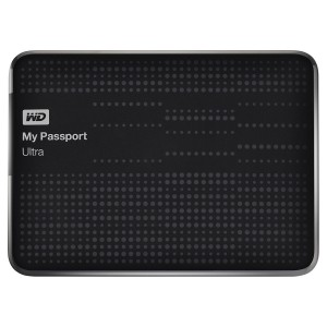 WD My Passport Ultra - 500GB USB 3.0 External Hard Disk - Black
