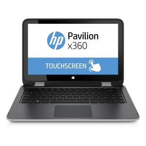 HP Pavilion X360 11'' - Dual Core - 500GB - 4GB RAM - Windows 10 - Silver