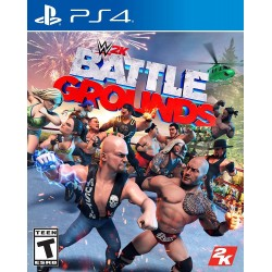 WWE 2K Games Battlegrounds - PlayStation 4 Standard Edition