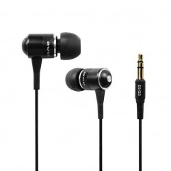 Awei ES-Q3I Noise Isolation with Precise Bass Metal Earphones with Mic