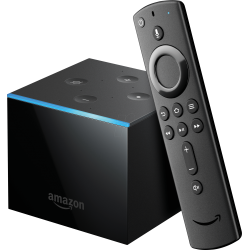 Amazon Fire TV Cube | Hands-Free with Alexa and 4K Ultra HD | Streaming Media Player
