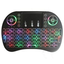 Wireless Mini Keyboard Recheargeable With Backlight