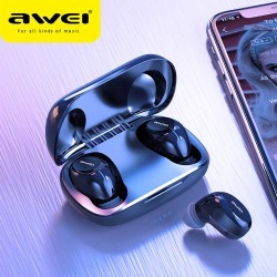 Awei TWS T20 true Wireless Mini Earbuds with Charging Case