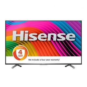 "Hisense - 43"" Class - LED - 2160p - Smart - 4K Ultra HD TV"