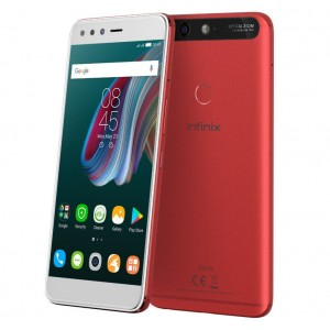 "INFINIX Zero 5 - 5.98"" - 64GB - 6GB RAM - 16MP Camera - Dual SIM - Bordeaux Red"