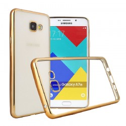 Samsung Galaxy A5 (2017) Luxury Clear Crystal Soft Electroplating TPU Case
