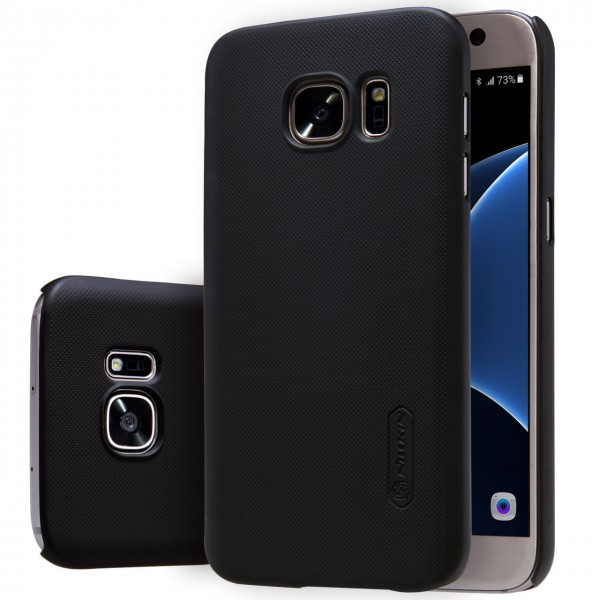 Nillkin Super-Frosted-Shield Executive Case for Samsung Galaxy S 7 Edge -Black