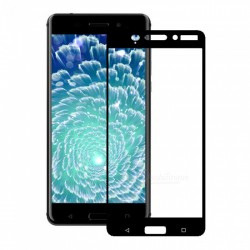 Nokia 6- Tempered Full Glass Screen Protector - Clear