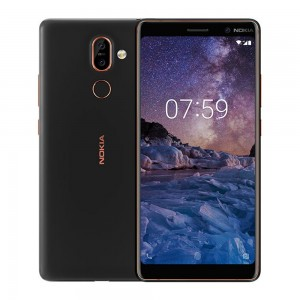 "Nokia 7 Plus, 6"" (64GB+4GB RAM) 12MP+13MP Dual Camera (Dual SIM)"