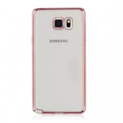 Samsung Galaxy Note 4 Luxury Clear Crystal Soft Electroplating TPU Case