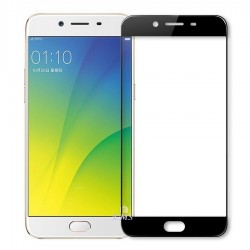 Oppo A37 3D Tempered Full Glass Screen Protector - Clear