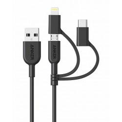 Anker Powerline II USB-A to 3 in 1 Charging Cable