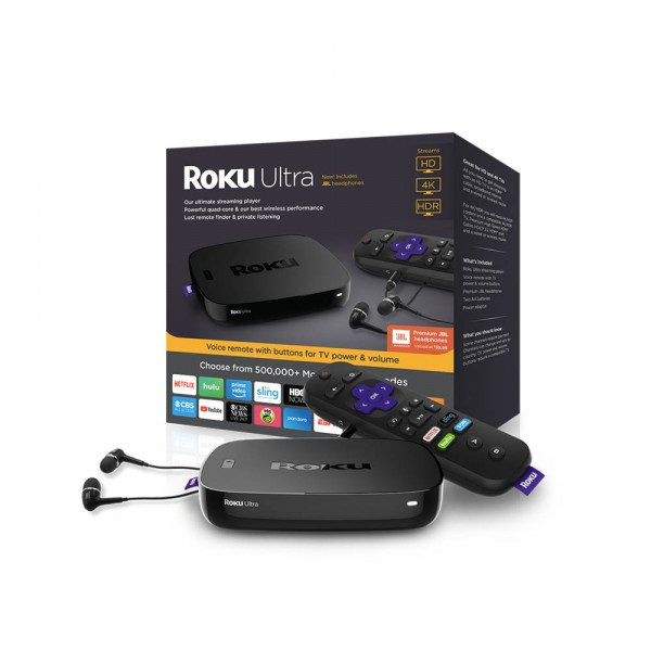 Buy ROKU Ultra - HD/4K/HDR Streaming Media Player at Low Prices in