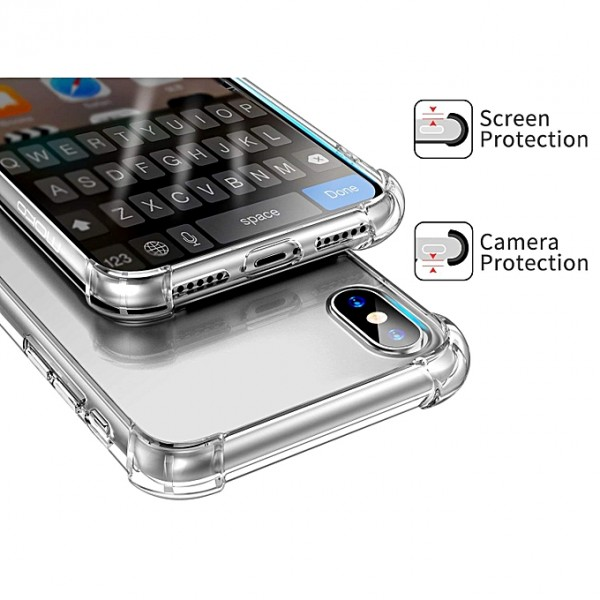 Crystal Clear Case Shockproof Case for iPhones